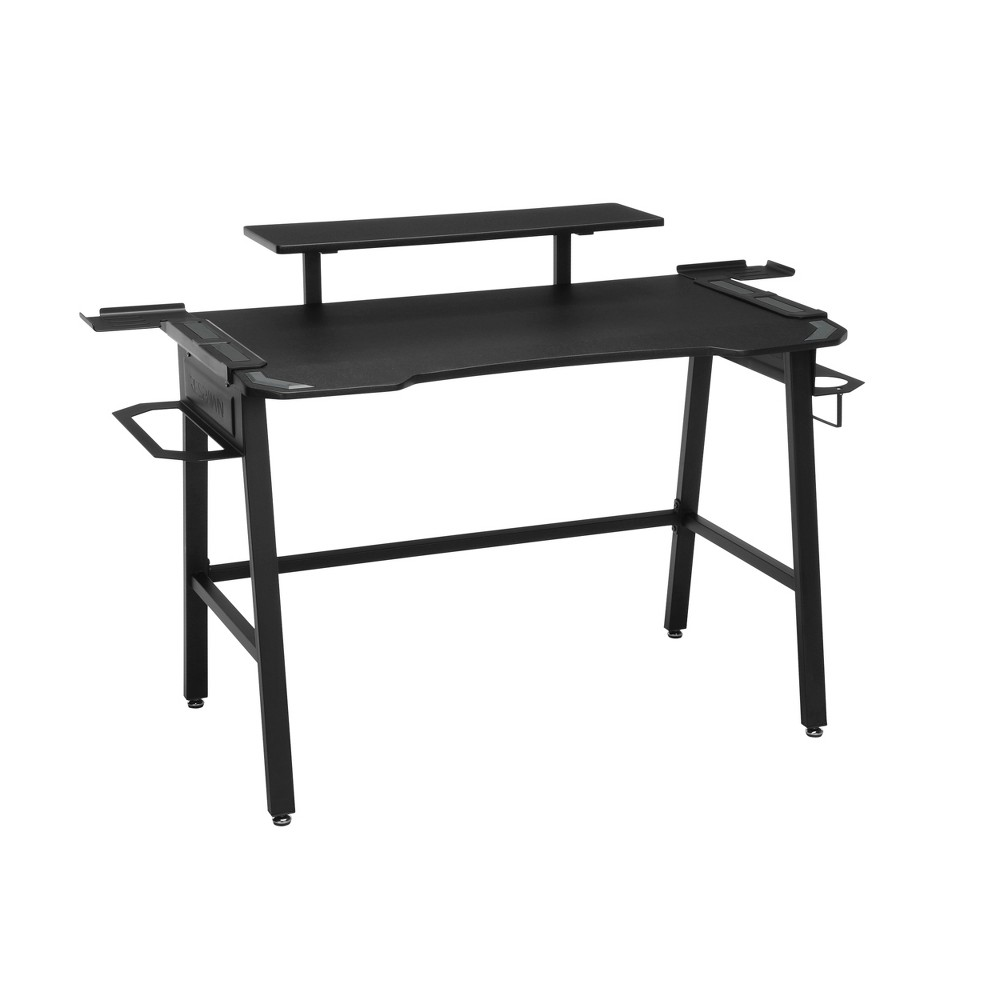 Image of 1010 Gaming Computer Desk Gray - RESPAWN