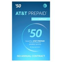 Deals on $50 AT&T Prepaid Phone Card (Email Delivery)