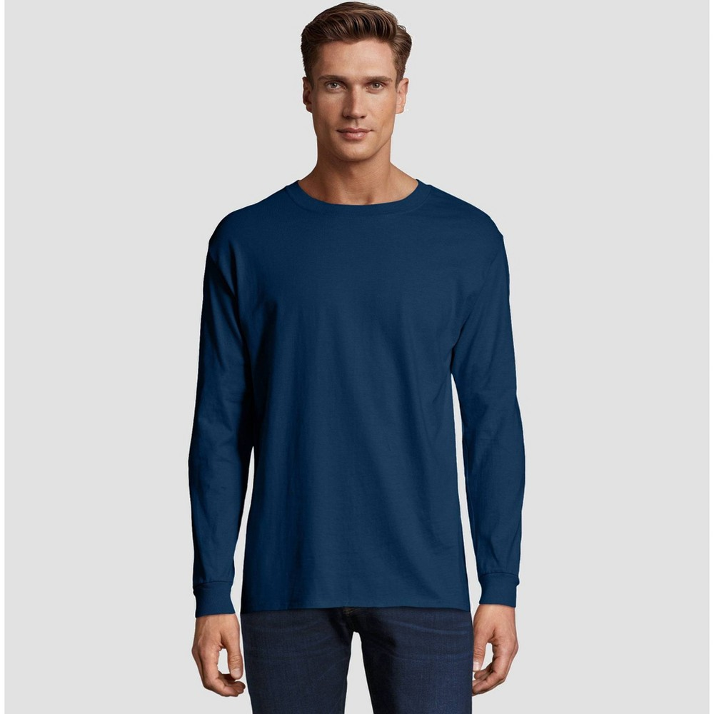 a319cf55 ... the Hanes Beefy T has set the standard for T shirt comfort and quality.  Today it's better than ever, offering even greater durability and fit.