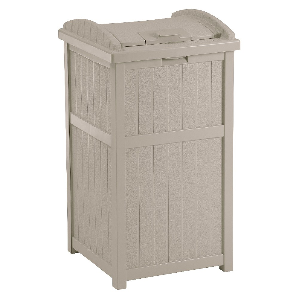 Image of Outdoor Trash Receptacle - Suncast