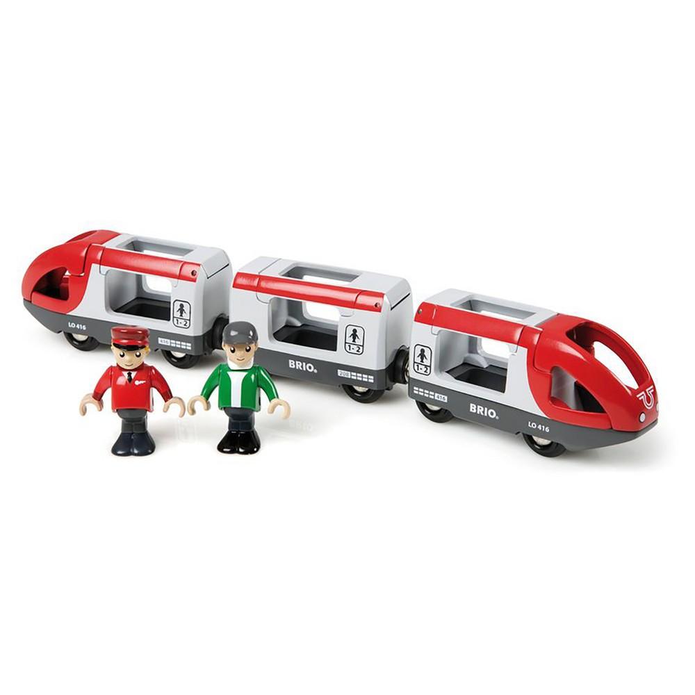 Brio Travel Train Red, Toy Vehicles