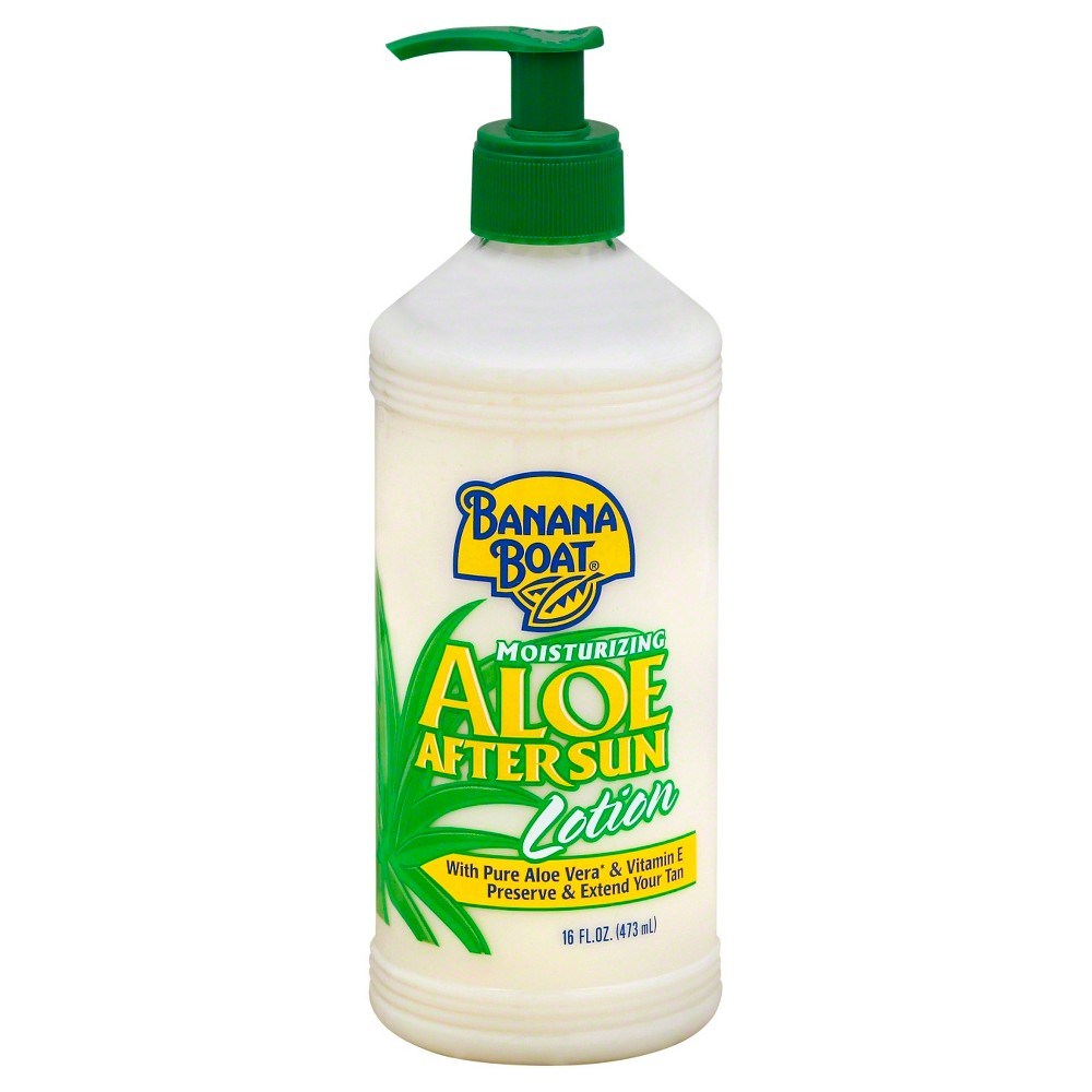Image of Banana Boat Moisturizing Aloe After Sun Lotion - 16oz