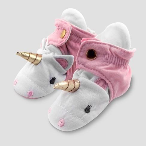 22e260bddd0b Baby Girls  Unicorn Bootie Wrap - Cloud Island™ Pink   Target