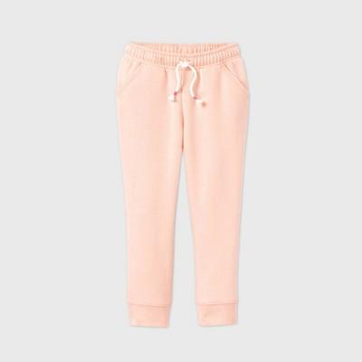 Toddler Girls' Fleece Jogger Pants - Cat & Jack™ Pink 2T