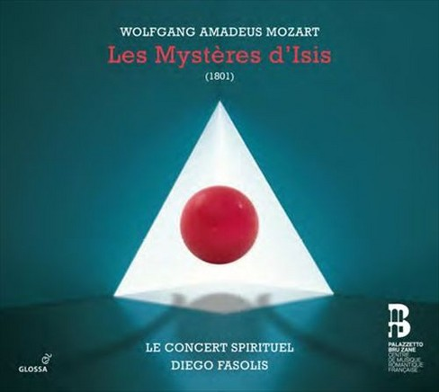 Flemish radio choir - Mozart:Les mysteres d'isis (CD) - image 1 of 1