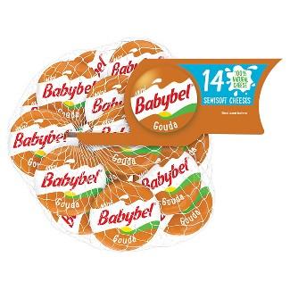 Mini Babybel Gouda Semisoft Cheese - 14ct