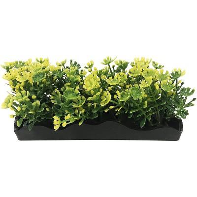 Penn-Plax Aqua-Scaping Small Yellow Bunch Plant-5 Piece PDQ