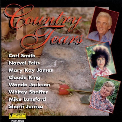 Various - Country tears (CD) - image 1 of 1