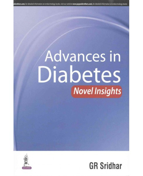 Advances in Diabetes : Novel Insights (Paperback) - image 1 of 1
