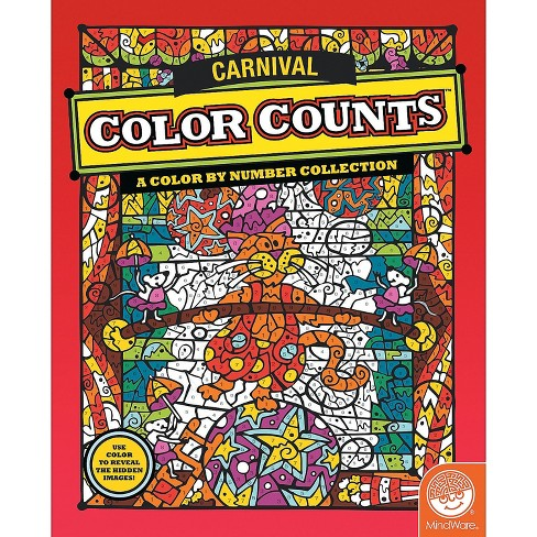 MindWare Color Counts: Carnival - Coloring Books - image 1 of 2