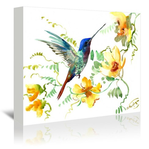 Americanflat Hummingbird 2 By Suren Nersisyan Wrapped Canvas Target