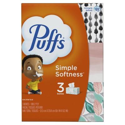 Puffs Facial Tissue - 3pk