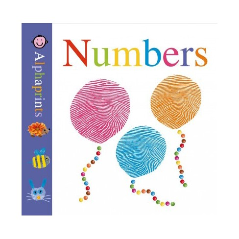 Little Alphaprints: Numbers - by  Roger Priddy (Board_book) - image 1 of 1