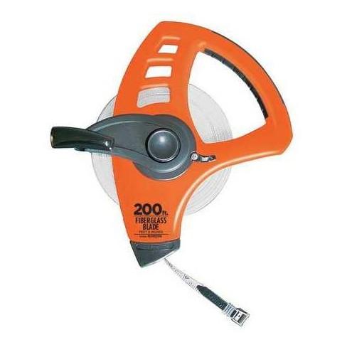 """KESON FLT18200 200 ft. Tape Measure, 1/2"""" Blade, Orange/Black - image 1 of 1"""