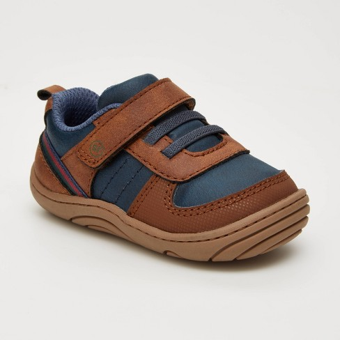 Baby Surprize by Stride Rite Killian Sneakers - Brown - image 1 of 4