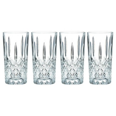 Marquis by Waterford Markham Crystal High Ball Glass 13oz - Set of 4