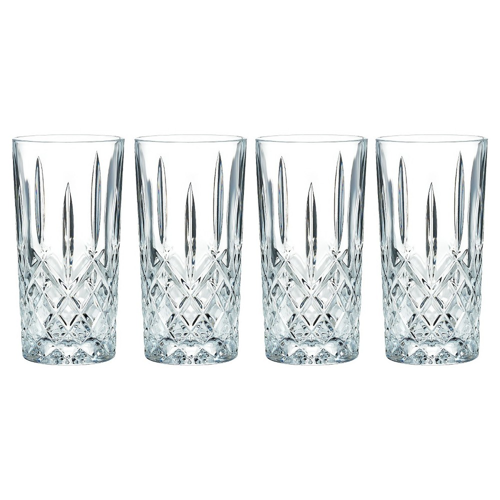 Image of Marquis by Waterford Markham Crystal High Ball Glass 13oz - Set of 4