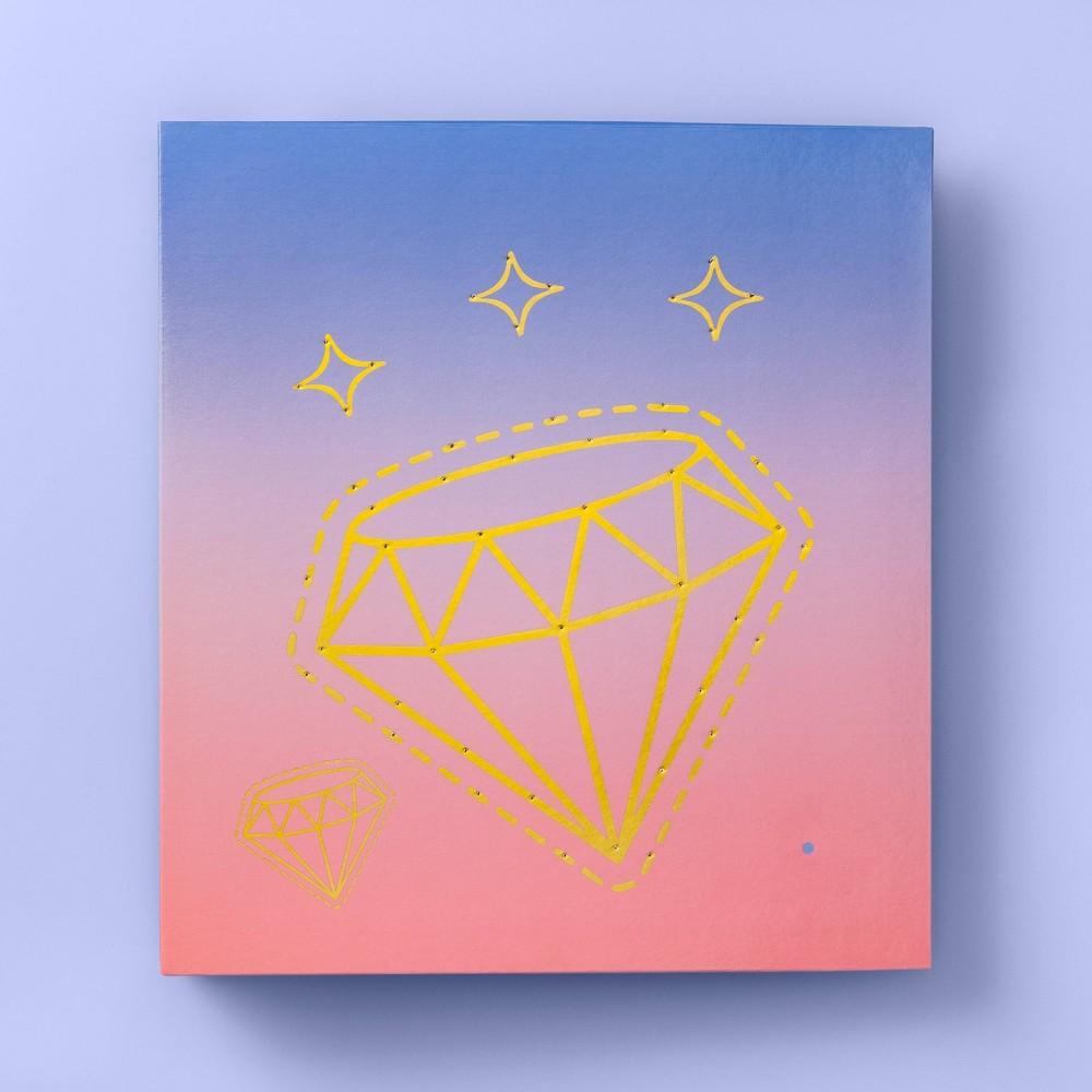 "Image of ""1.5"""" Diamond LED Light-Up Fashion Ring Binder - More Than Magic"""
