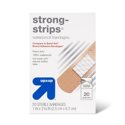 Strong Strip Waterproof Bandages - 20ct - up & up™