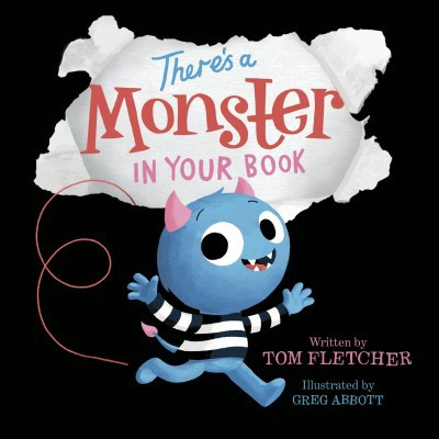 There's a Monster in Your Book by Tom Fletcher (Board Book)