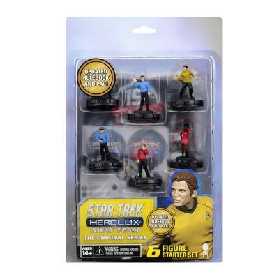 Star Trek HeroClix - Away Team The Original Series Starter Set Miniatures Box Set