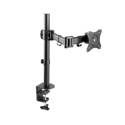 Double Articulated Desk Monitor Mount, Black