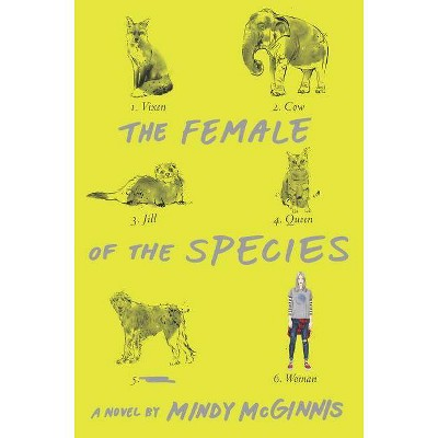The Female of the Species - by  Mindy McGinnis (Hardcover)