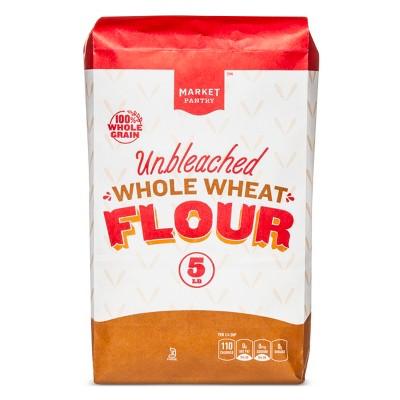 Flours & Meals: Market Pantry Unbleached Whole Wheat Flour