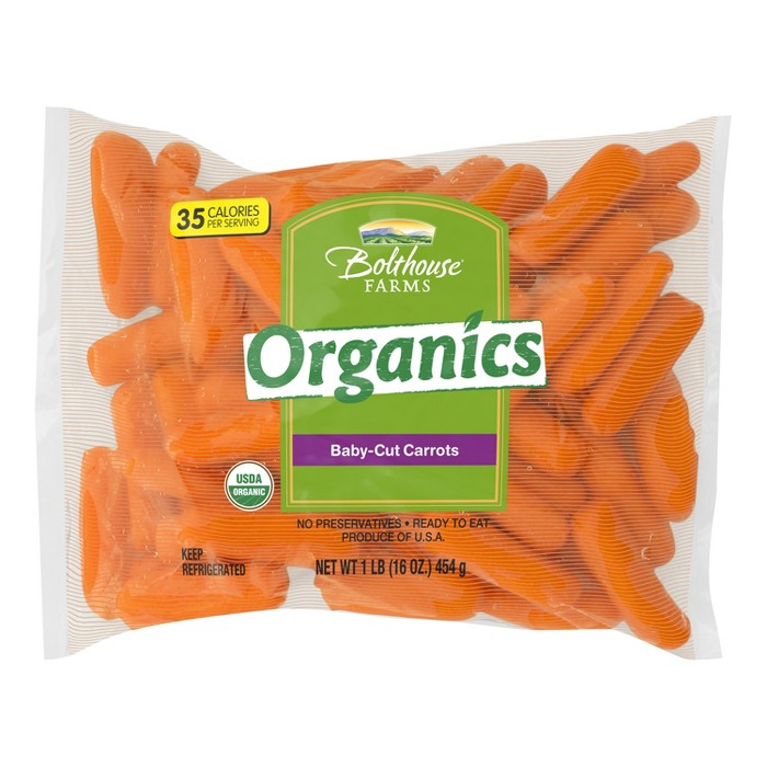 Organic Baby-Cut Carrots - 1lb - image 1 of 1