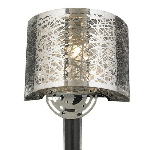 "World Wide Lighting Wall Light - Silver (12 X 10 X 8"") - image 1 of 1"