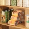 mDesign Canned Food Dispenser Kitchen Storage Organizer Bin, 2 Pack - Clear - image 3 of 4