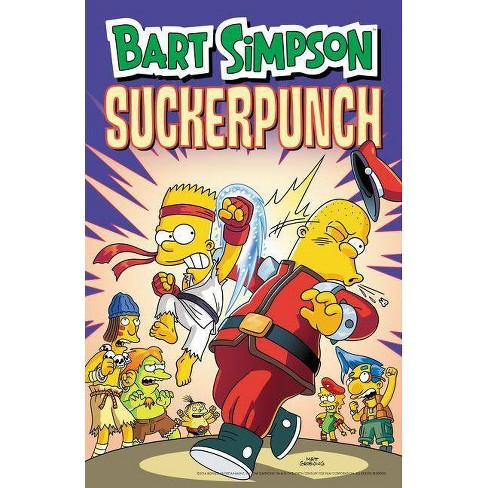 Bart Simpson Suckerpunch - (Simpsons Comic Compilations) by  Matt Groening (Paperback) - image 1 of 1