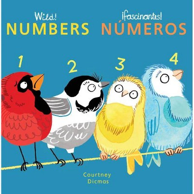 Numbers/Numeros - (Spanish/English Bilingual Editions)by Courtney Dicmas (Board_book)