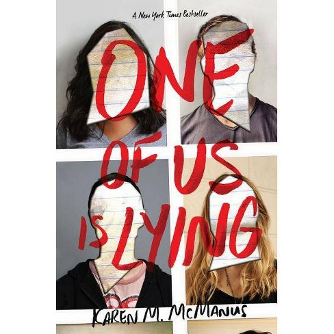 One of Us Is Lying -  by Karen M. Mcmanus (Hardcover) - image 1 of 2