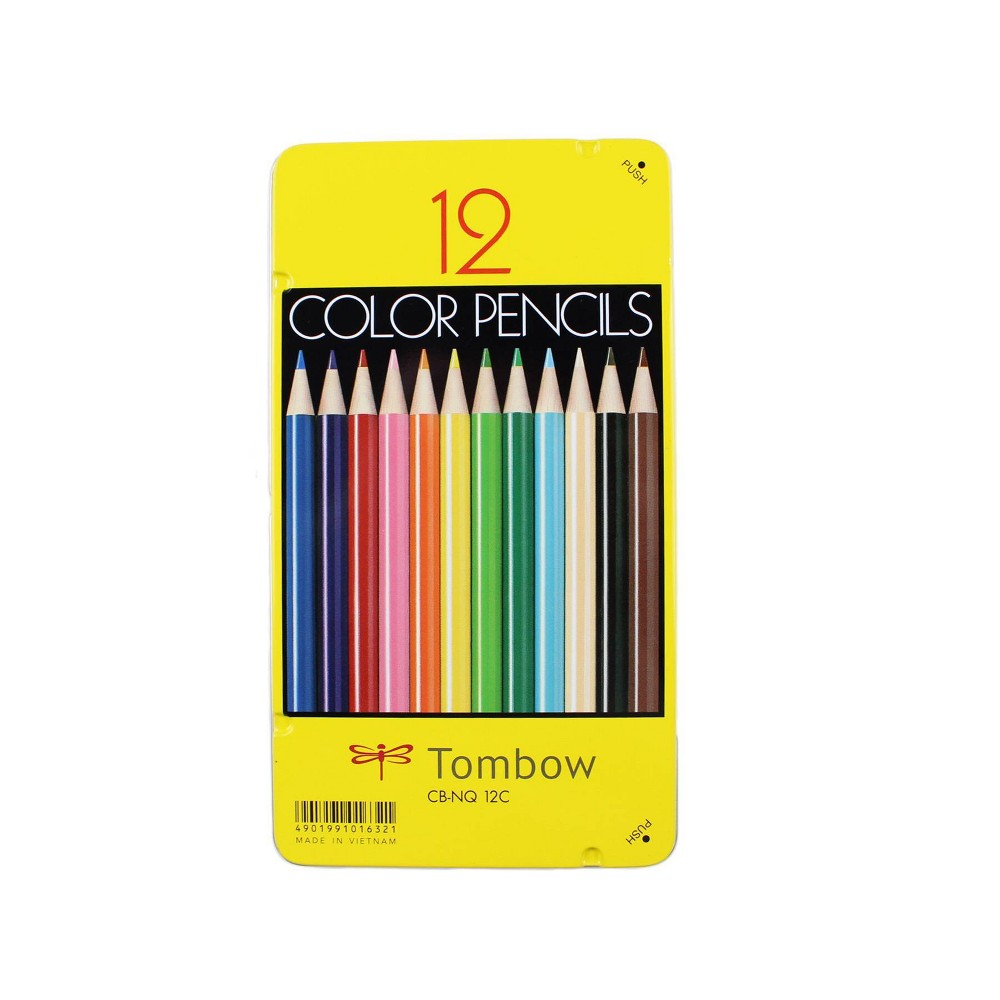 Image of 12ct Colored Pencil Set 1500 Series - Tombow