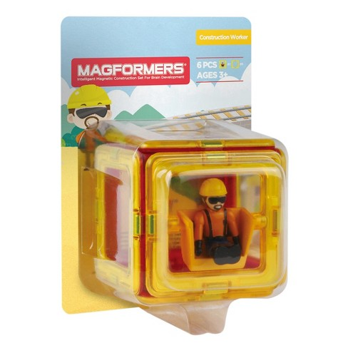 Magformers Figure Plus Construction Set - 6pc - image 1 of 2