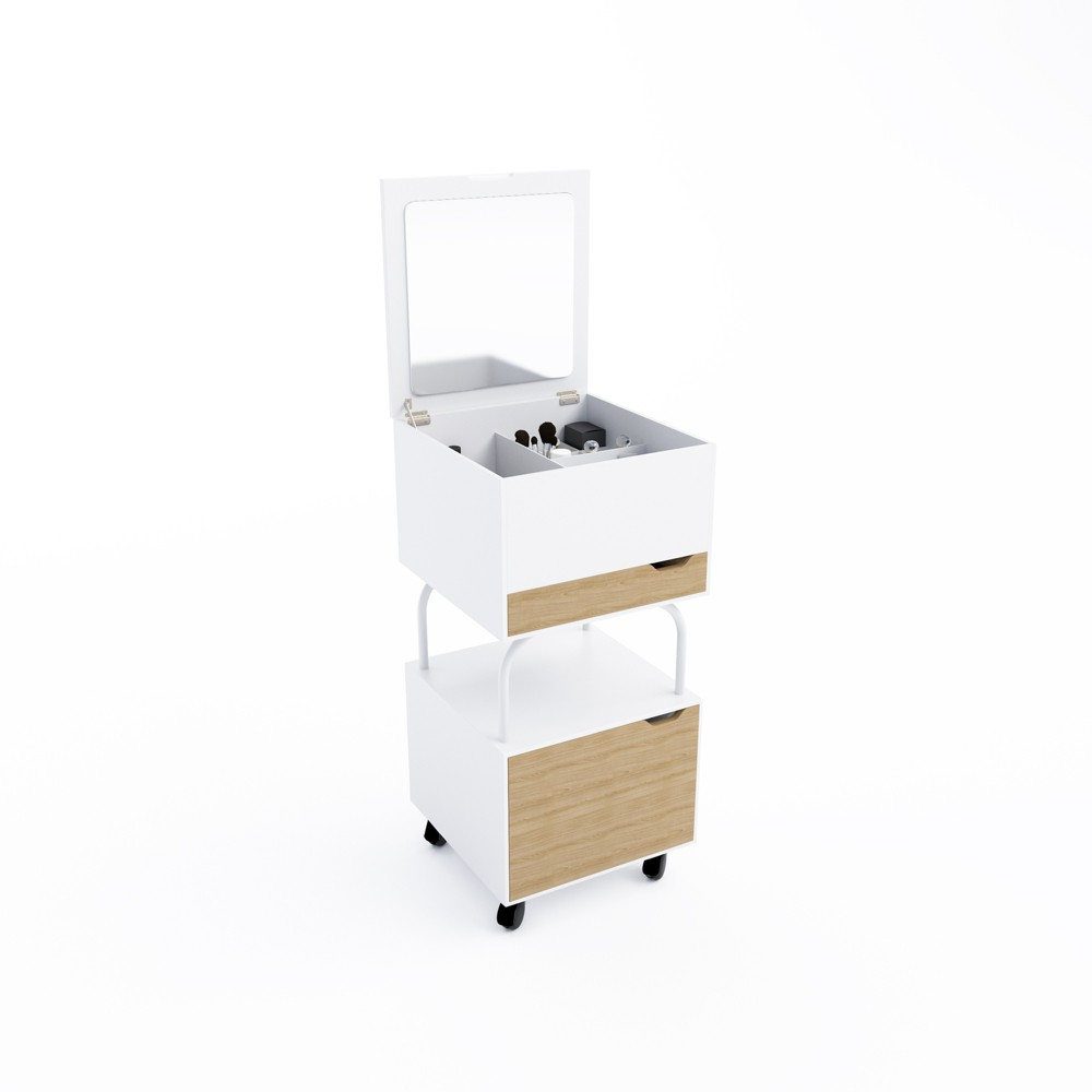 Image of Blythe Beauty Cart White - Jamesdar