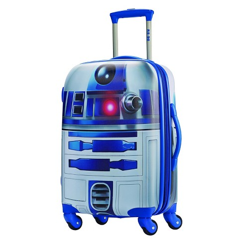 "American Tourister Star Wars R2-D2 21"" Hardside Kids' Carry On Suitcase - image 1 of 8"
