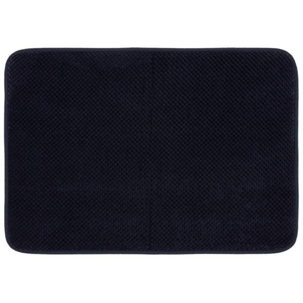 "Image of ""17""""x24"""" Bubble Memory Foam Bath Rugs & Mats Xavier Navy - Threshold , Xavier Blue"""