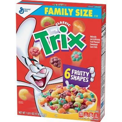Trix Breakfast Cereal - 17oz