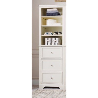 Naples Drawer Closet Wall Unit   Cream/ Off White   Home Styles