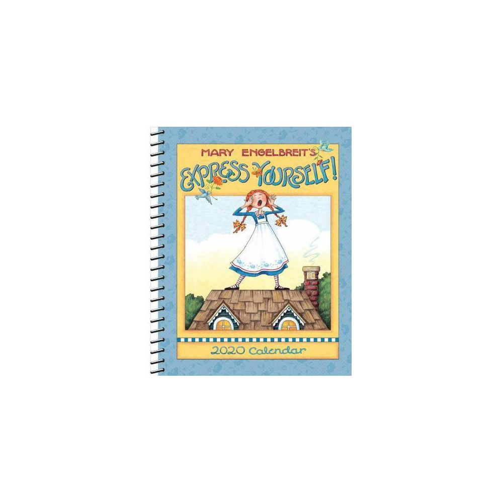 Mary Engelbreit Monthly/Weekly Planner 2020 Calendar : Express Yourself - (Hardcover)