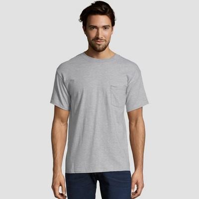 Hanes Men's Heavyweight Crew Neck Short Sleeve T-Shirt 2pk