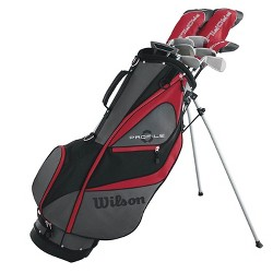 Wilson Profile XD Men's Left Handed Complete Golf Club Package Set w/ Stand Bag