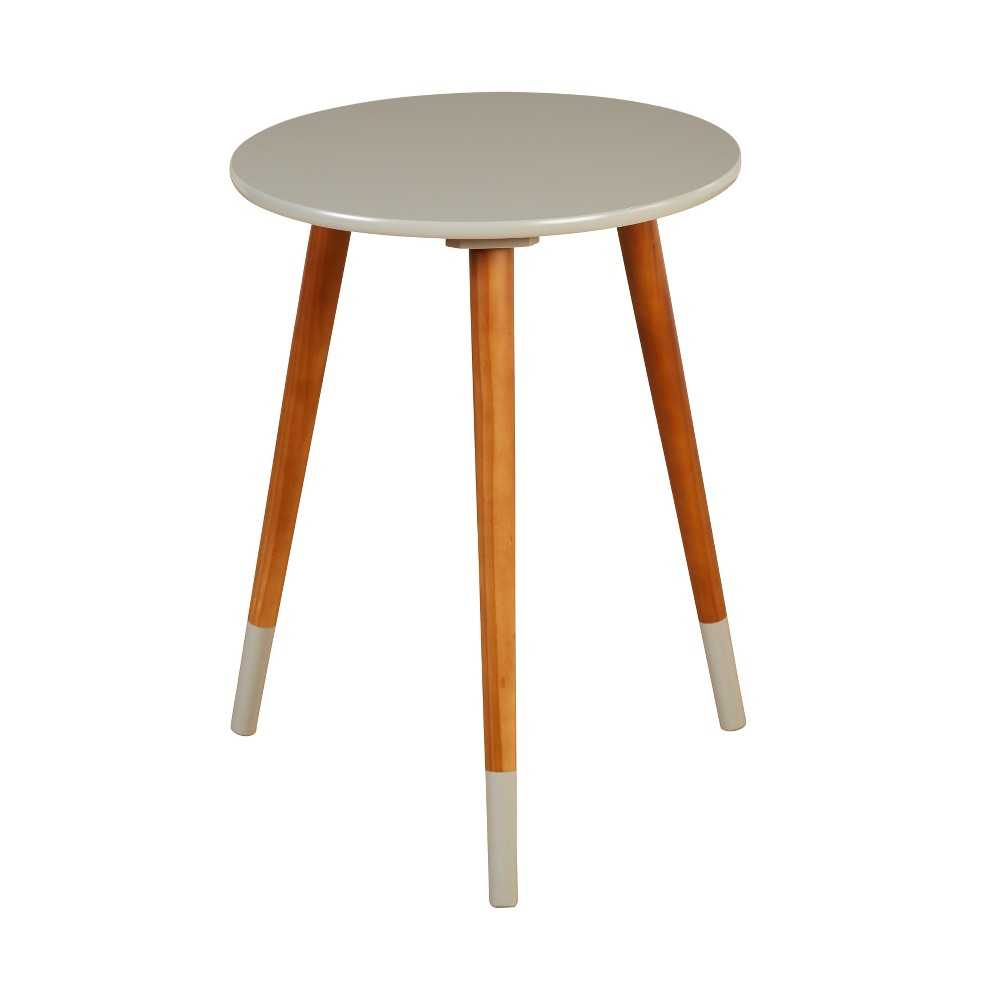 Julia End Table Gray - Buylateral