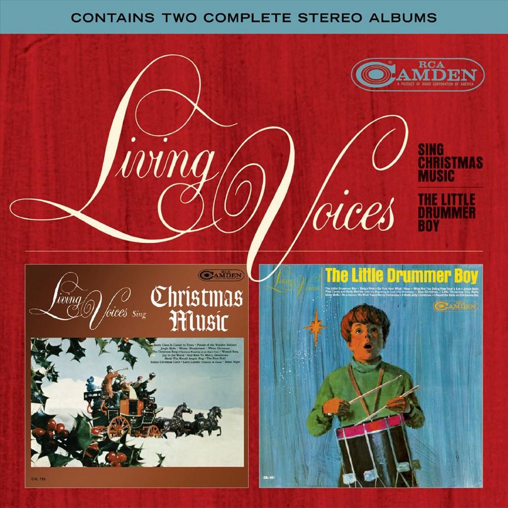 Living Voices - Sing Christmas Music/Little Drummer B (CD)