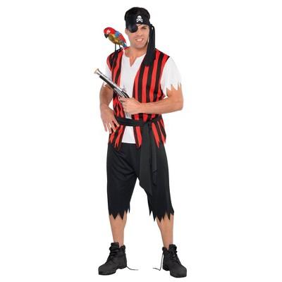 Adult Plus Ahoy Matey Halloween Costume 2X