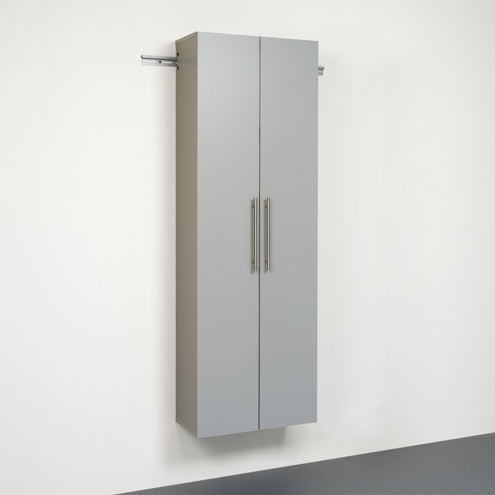 Hangups 24 Large Storage Cabinet Light Gray Prepac