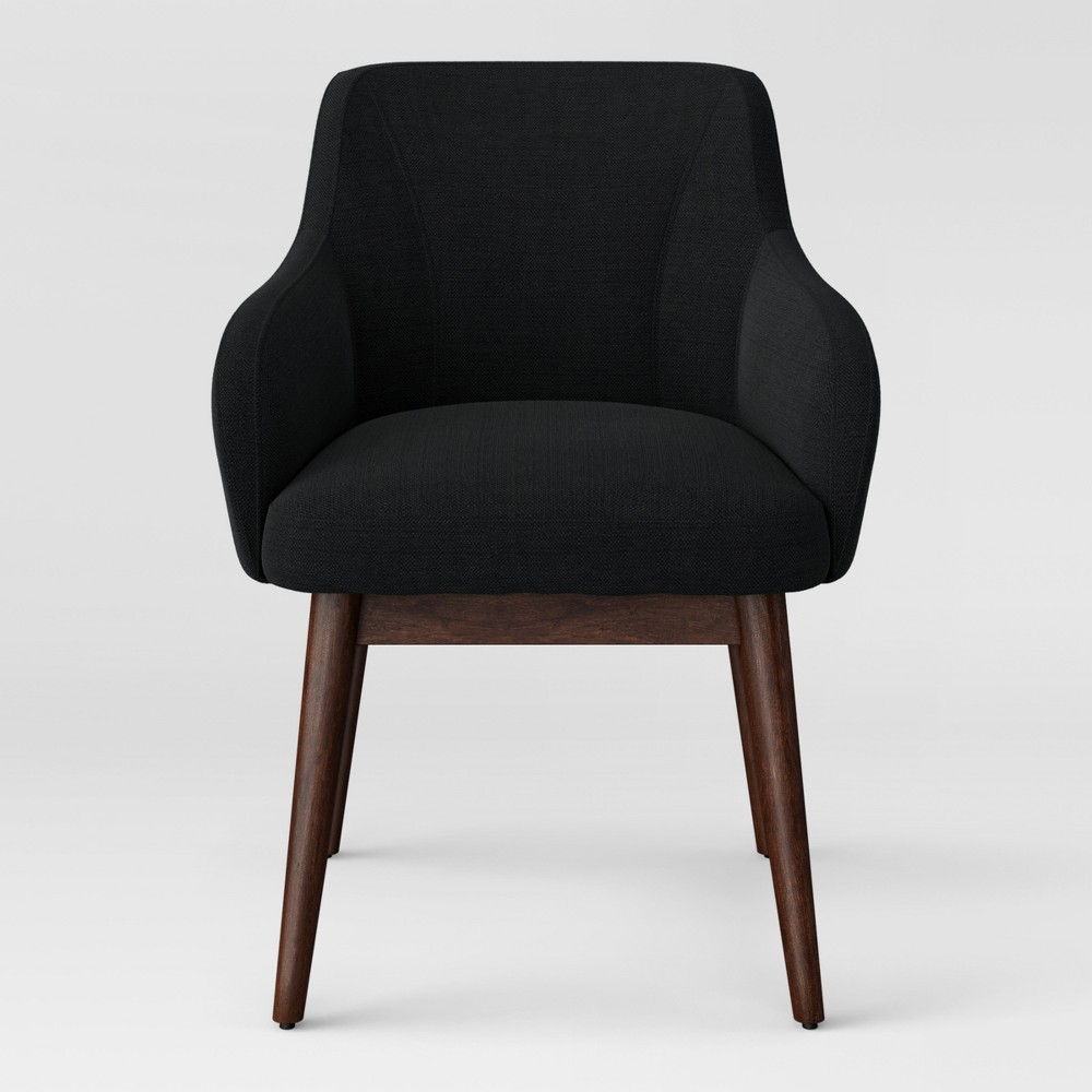 Marshad Modern Arm Anywhere Chair Charcoal (Grey) - Project 62