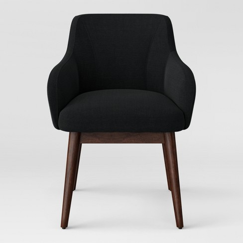 Marshad Modern Arm Anywhere Chair Charcoal - Project 62™ - image 1 of 5